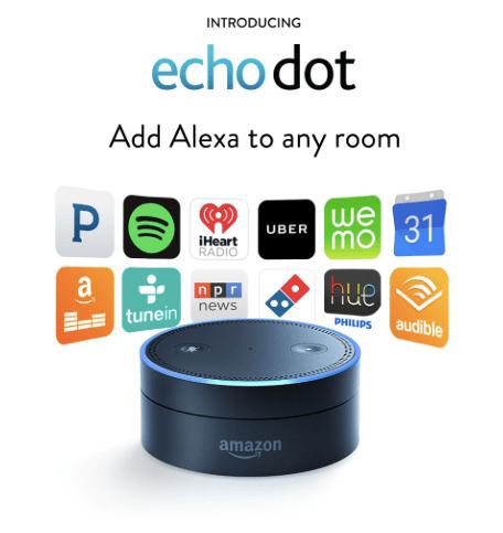 "Amazon's Tap & Echo Dot ""The Portable Alexa's"""