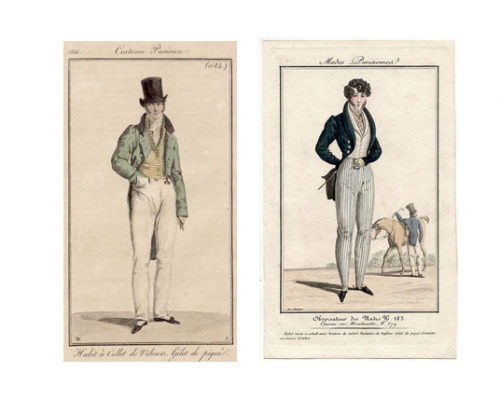 fashion plate collage, 2