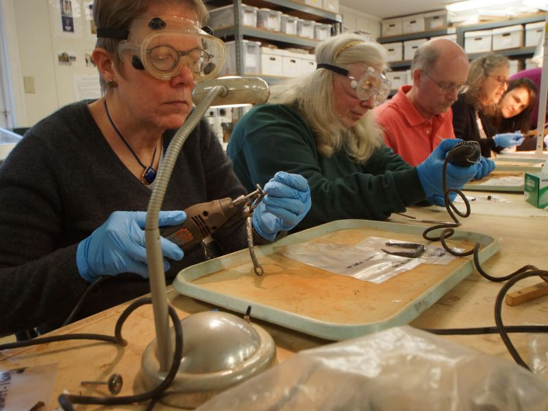So Fresh and So Clean: Iron Conservation at Montpelier