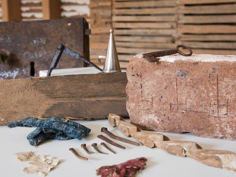 Industrious Archivists: How Rats Helped Preserve Madison's Montpelier