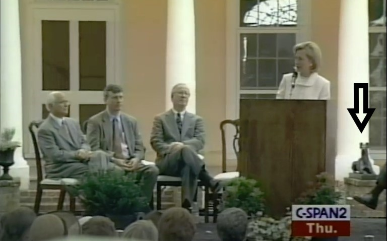 Hillary Clinton 1998 Montpelier Visit