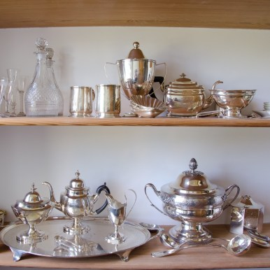 View inside the Pantry at Montpelier. Image Courtesy of The Montpelier Foundation