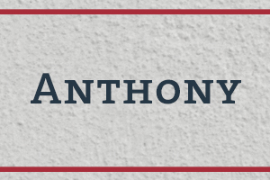 The Naming Project: Anthony