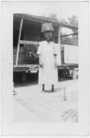 Daphne Williams, ex-slave, Hillister (Beaumont)