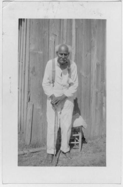 Jas Boyd, ex-slave, Waco