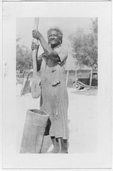 Johanna Lesley, ex-slave, Bracketville