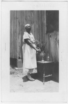 Mary Randall, ex-slave, Beaumont