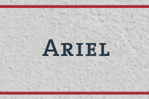 The Naming Project: Ariel