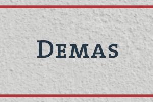 The Naming Project: Demas (Demars)