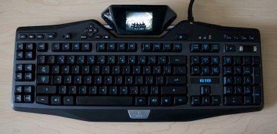 Logitech Ekranlı Klavye