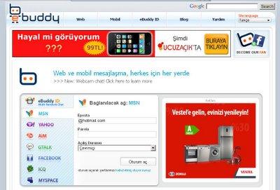 Online messenger eBuddy