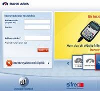 Bank Asya internet şubesi ücretli oldu