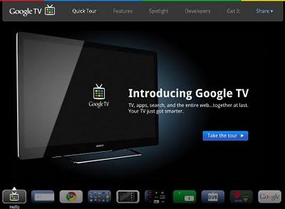 Google Tv televizyon dünyasında