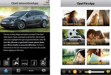 Opel İphone uygulaması FlexApp