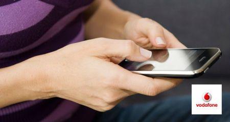 Vodafone 9 TL'ye 12 bin sms