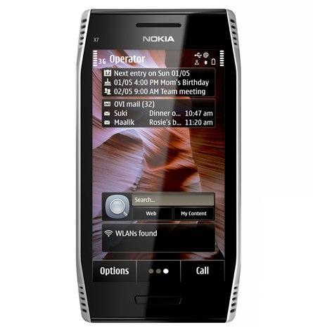 Nokia X7'i sundu