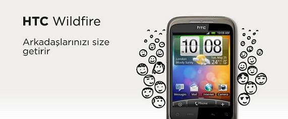 Vodafone ayda 5 TL ye HTC kampanyası