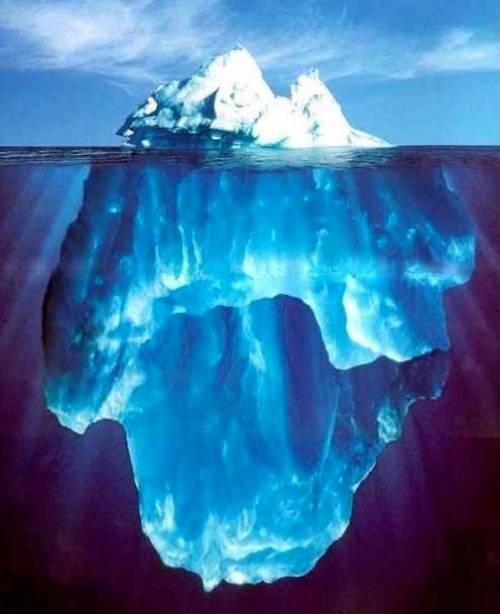 İçilebilir su için buz dağlarını taşımak