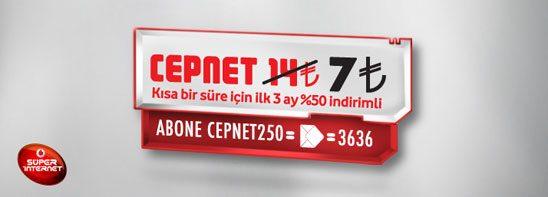 Vodafone dan 7 TL'ye sınırsız internet