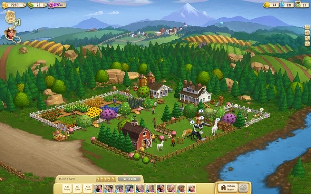 Facebook farmville 2 çıktı