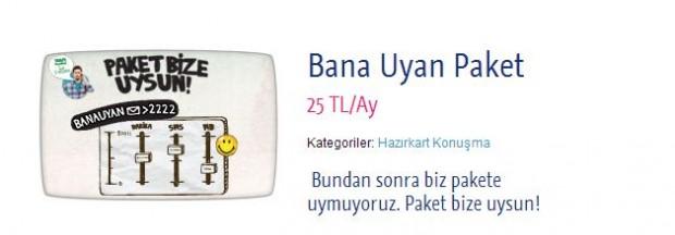 Turkcell esnek paket tarife kampanyası