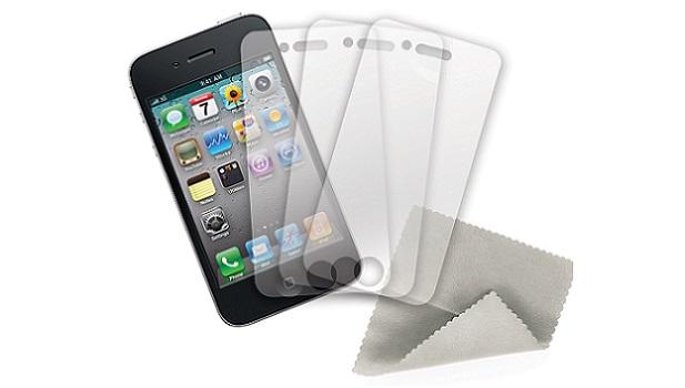 Telefon ve tabletlere koruyucu jelatin çekilmesi
