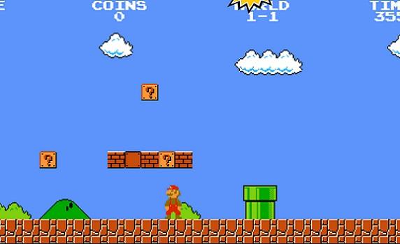 Efsanevi oyun Super Mario oyna