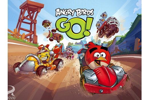 Angry Birds Go yollarda