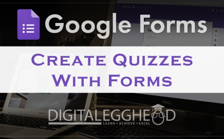 Google Forms Tips - Header - Create Quiz With Forms