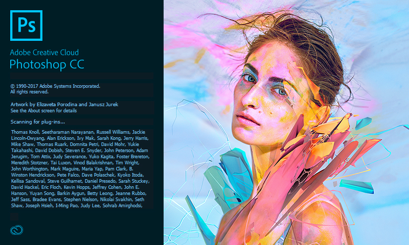 Adobe Creative Cloud- Opening Screens - PS Photoshop 208
