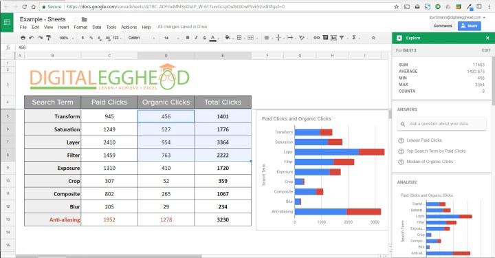 Google-Sheets-Explore-07-Highlighted-Data