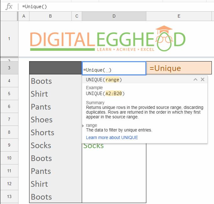 google sheets remove duplicate items digital egghead