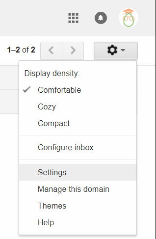 Gmail Tips - Auto Reply - 01 Settings