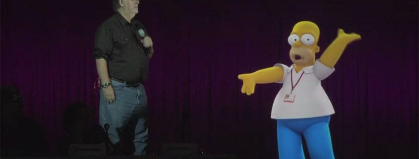 Homer Hologramm