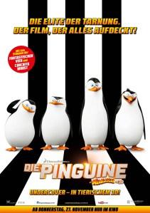 DIE PINGUINE- Teaserplakat