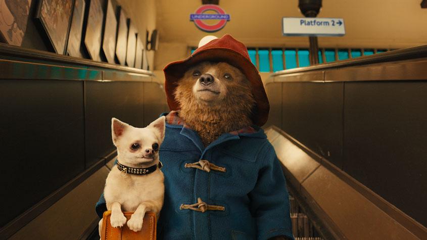 Paddingtons erster Besuch in der Londoner U-Bahn