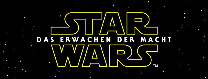 Star Wars- Das Erwachen der Macht - Logo Deutsch