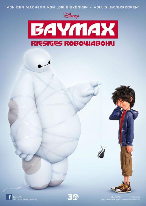 Baymax - Riesiges Robuwabohu - Plakat