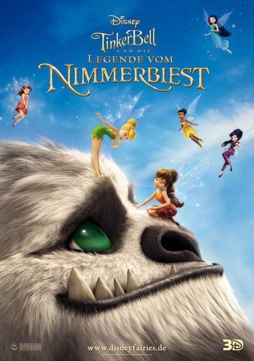 Tinkerbell und die Legende vom Nimmerbiest - Plakat