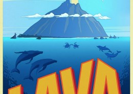 Lava - Pixar - Kurzfilm - Plakat