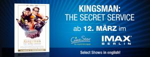 Kingsman- The Secret Service - IMAX Banner