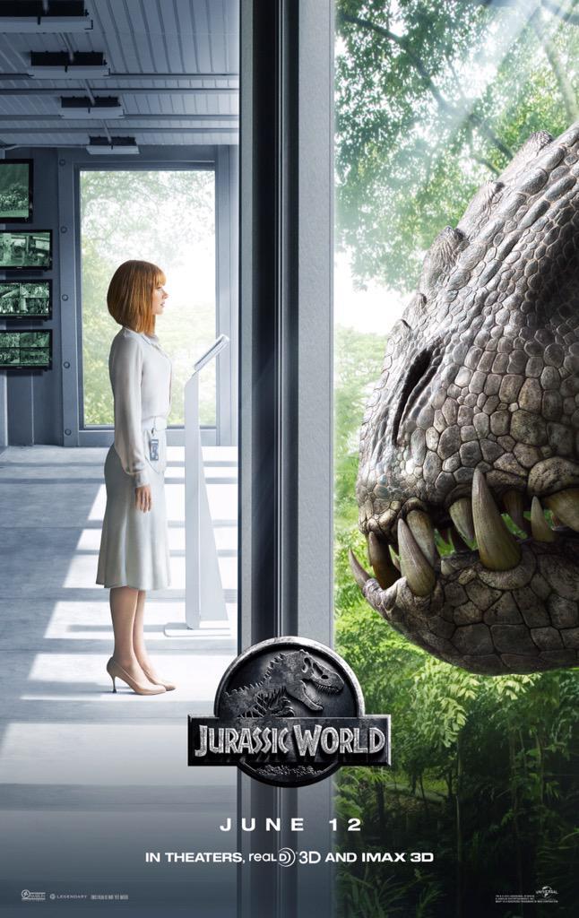 Jurassic World - Teaserposter Twitter