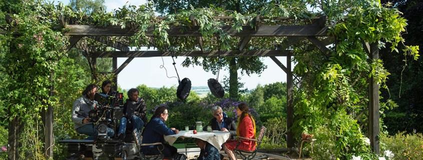 Die schönen Tage von Aranjuez - Dreharbeiten Wim Wenders