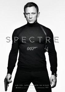 James Bond - 007 SPECTRE -Plakat