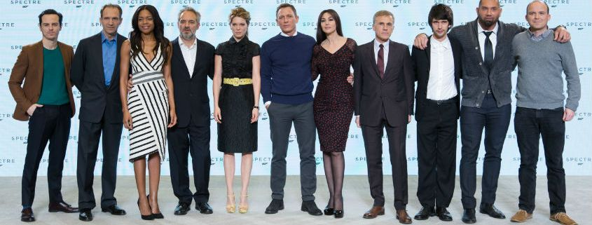 James Bond- Spectre - Cast