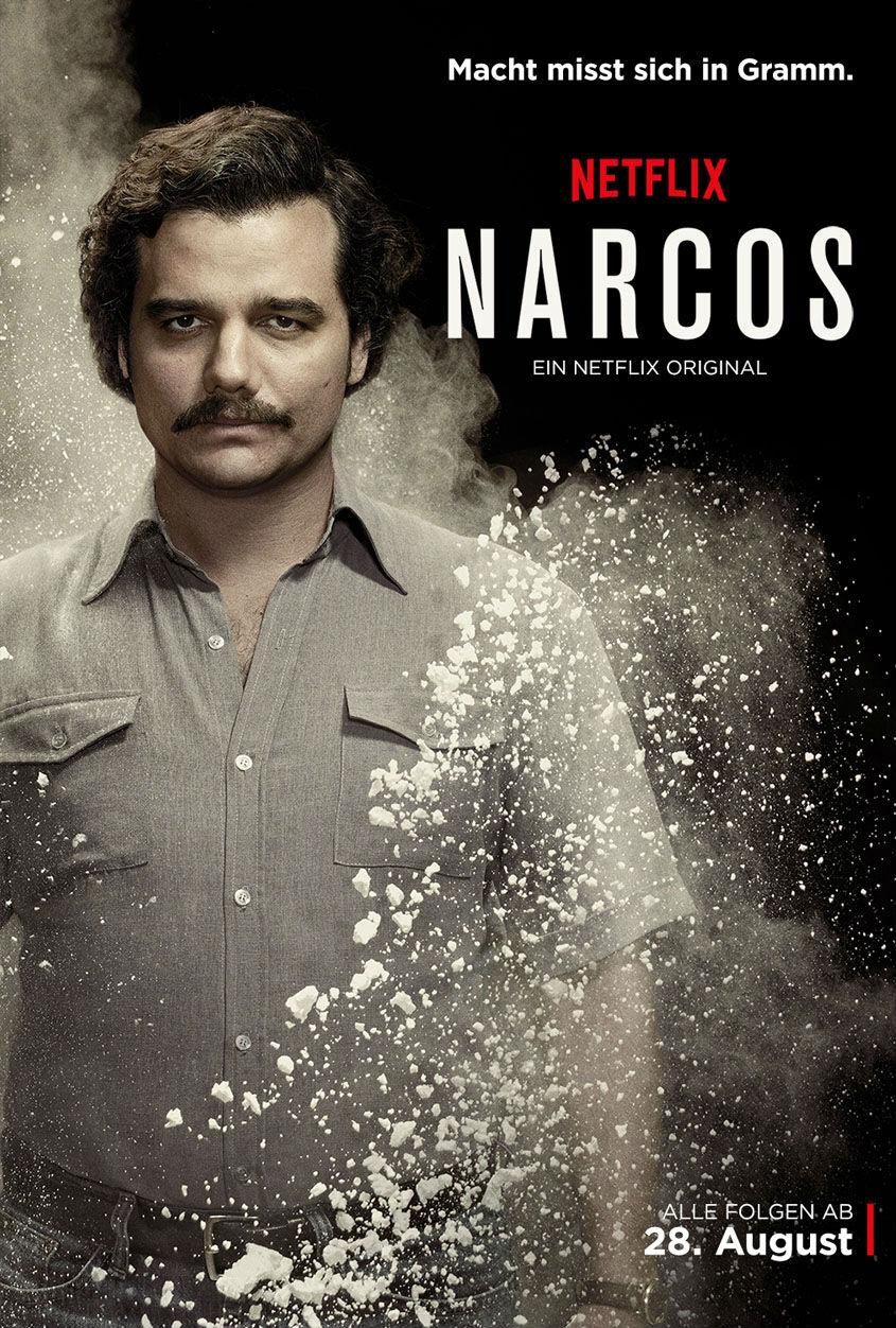 Narcos - Netflix - Plakat