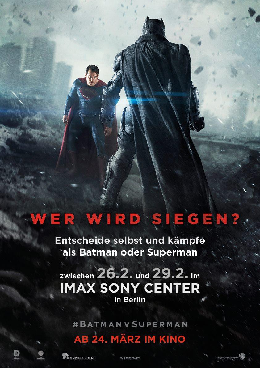 Batman vs Superman AR IMAX