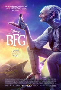 BFG Big Friendly Giant - Plakat