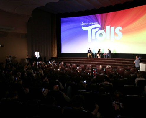 Trolls Screening 4- Justin Timberlake Anna Kendrick