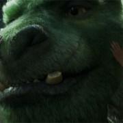 Elliot der Drache - 3D- Szenenbild